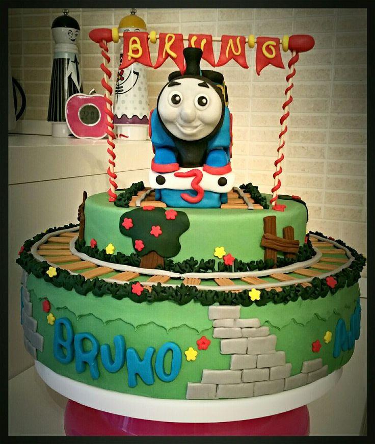 Trenino Thomas in pasta di zucchero