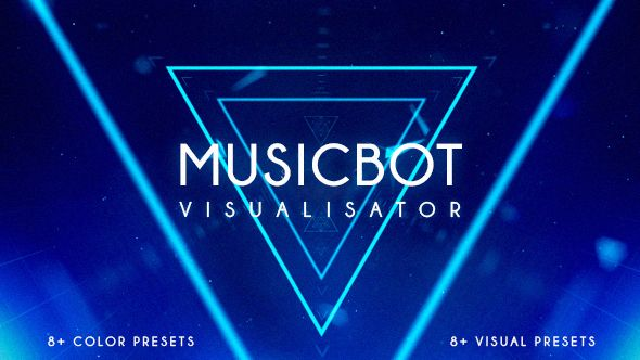 Musicbot Visualisator and Audio React Background Creator  • After Effects Template • Download here : http://videohive.net/item/musicbot-visualisator-and-audio-react-background-creator/16720611?ref=pxcr