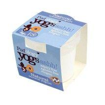 Dairy and soya free yogurt