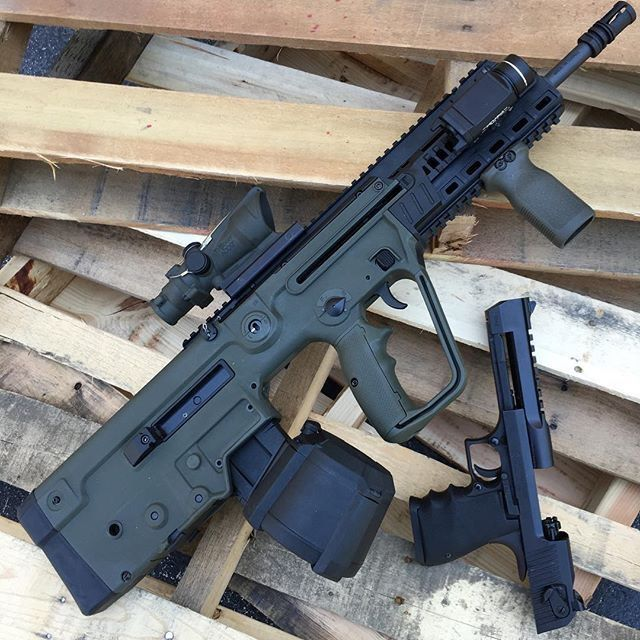 IMI Tavor and Desert Eagle