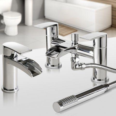 Best 25 Waterfall Basin Taps Ideas On Pinterest  Bathroom Brilliant Bathroom Fixtures Denver Design Decoration