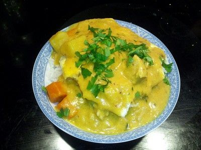 Pressure Cooker Recipes: Indonesian Creamy Coconut Curry Recipe by ePressureCooker.com. Make this beautiful yellow Indonesian inspired curry dish using sweet curry powder, coconut milk and kid friendly vegetables (carrots, potatoes, etc.) in about 45 minutes by pressure cooking it. This is a very mild curry, so its very family friendly. You can swap brown rice for white rice to make it even more nutritious.