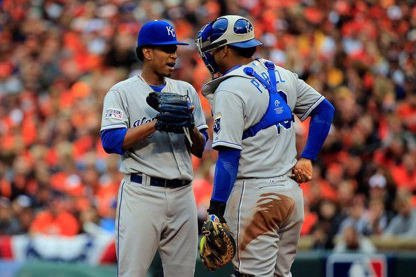 Salvador Perez Photos - ALCS - Kansas City Royals v Baltimore Orioles - Game Two - Zimbio