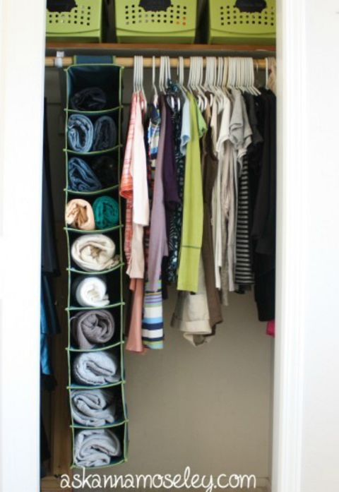 12 Organizing Hacks for Even the Tiniest of Closets