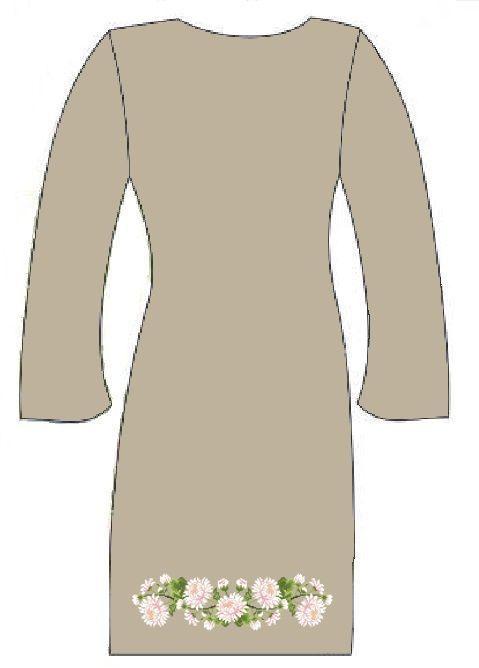 Серое платье ПлПс-010С