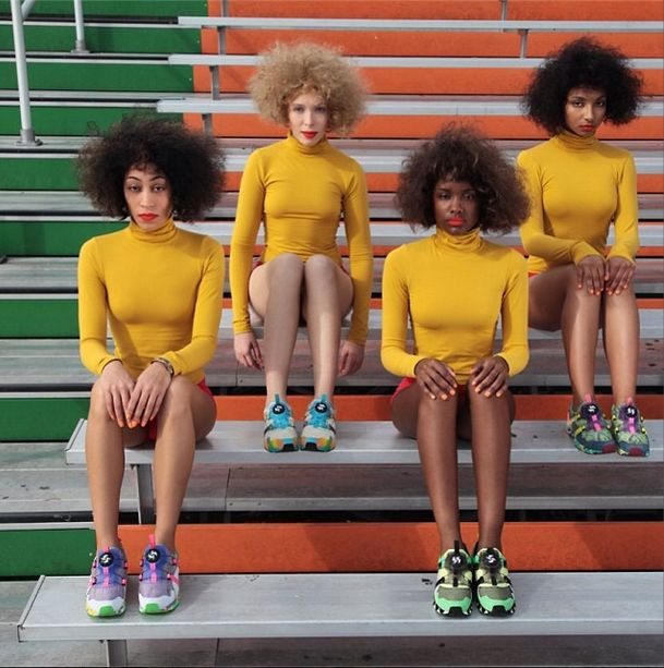 Puma x Solange Knowles, les clichés punchy de la collection!