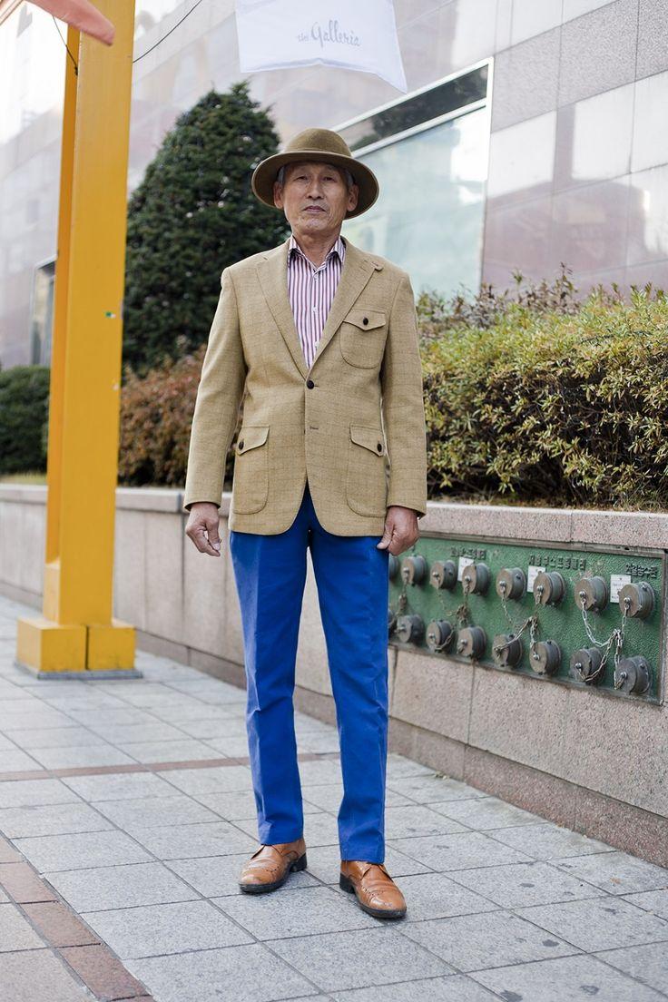 Jacket  : Daks Shirt : Custom made Pants: Lacoste Hat: Helen Kaminski