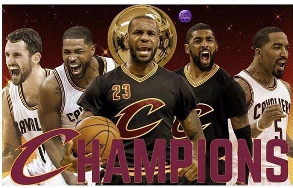 #Congrats to the #ClevelandCavaliers on #winning the #NBAfinals #Lebron #lebronjames #mvp #cavaliers #cavs #nba #champions #nbafinals2016 #cleveland #basketball