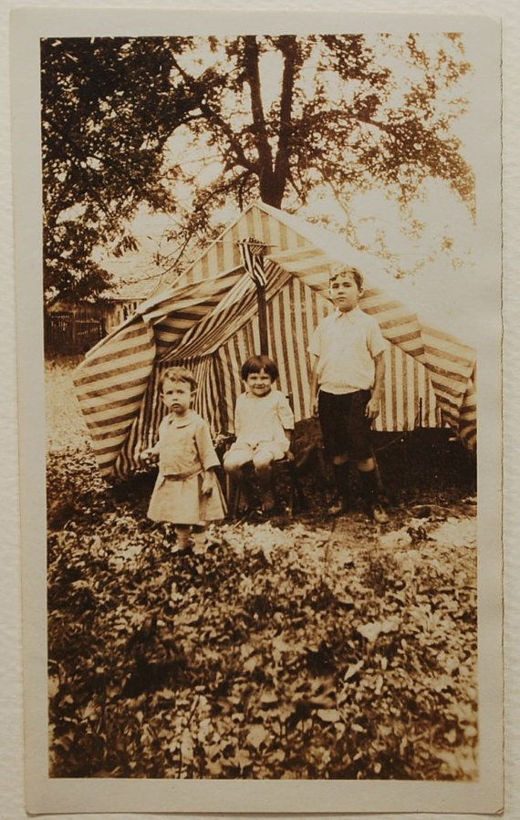 Camping, 1920s