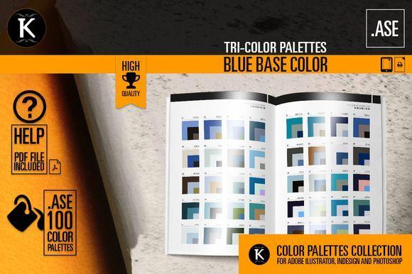 Best Blue Tricolor Palettes