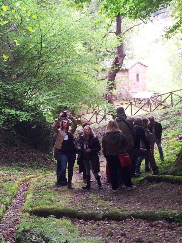 Un Museo archeologico all'aperto a#Pitigliano #Maremma #Toscana