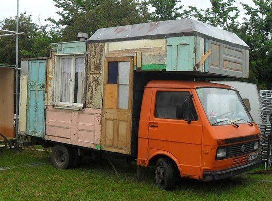 camper from doors