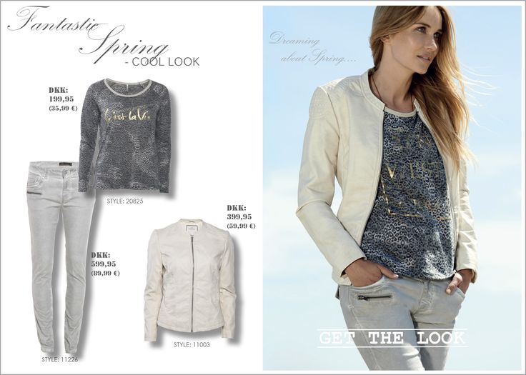 soyaconcept - blouse - jacket - leather jacket - pants - jeans