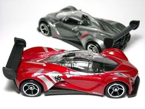 Hot Wheels Mazda Furai Color Rojo