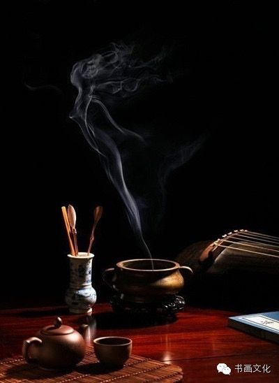 Preparing tea ceremony