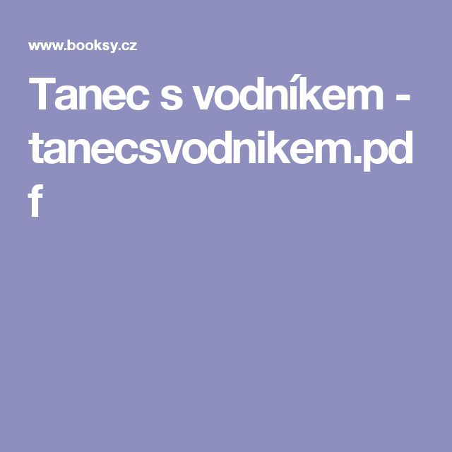 Tanec s vodníkem - tanecsvodnikem.pdf