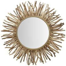 Soleil Mirror 100cm | Freedom Furniture and Homewares