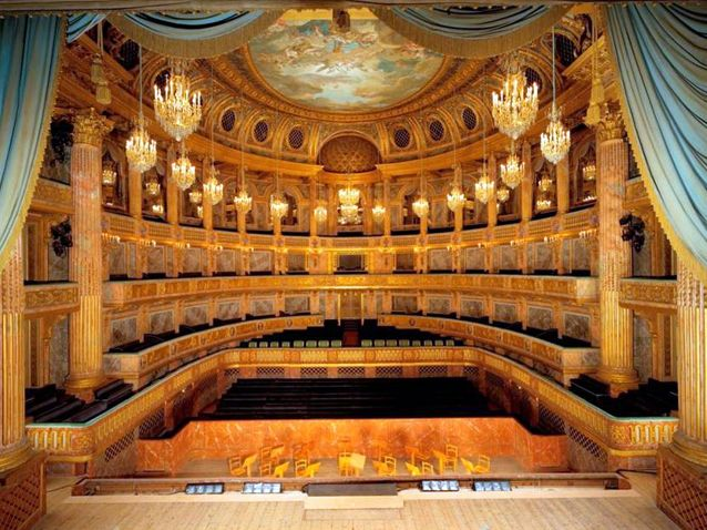 Opéra Royal du Chateau de VersaillesXl_avatar Inaugurated in 1776 for the Marriage of Louis XVI and Marie-Antoinette