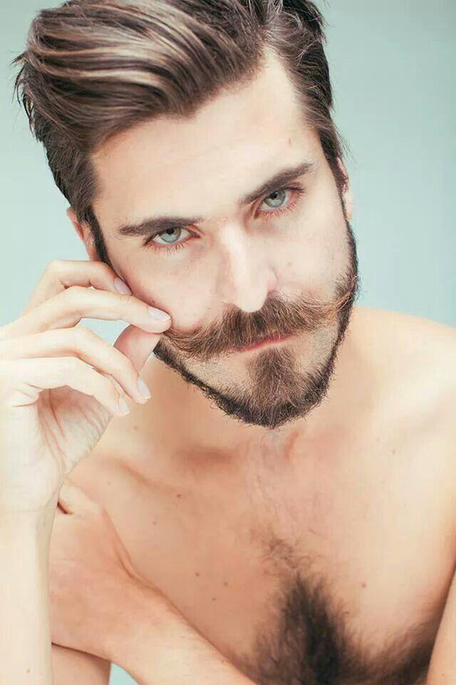 how to make my beard straight