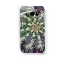 Cacti and Purple Samsung Galaxy Case/Skin by I Love the Quirky