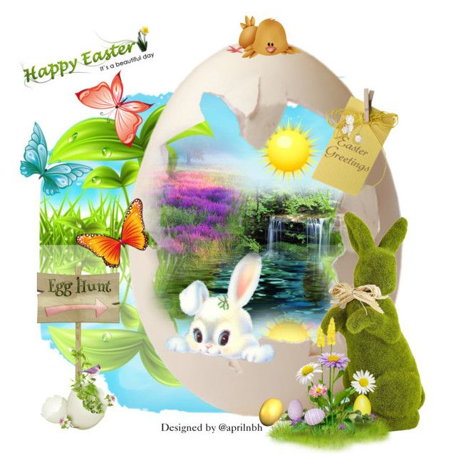 """""""Easter Day!"""" by aprilhayes123 on Polyvore featuring art"""