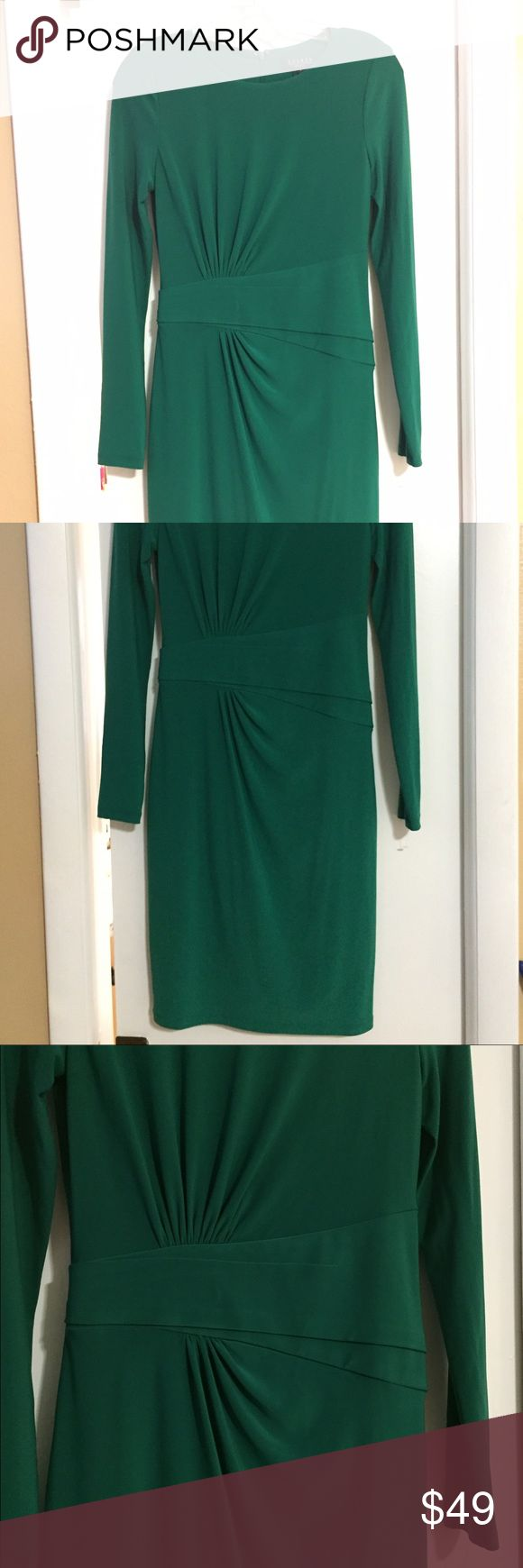 Lauren Ralp Lauren dress New without tag, never been in use. stunning Esmerald dress, gorgeous and  comfy. Ralph Lauren Dresses Midi