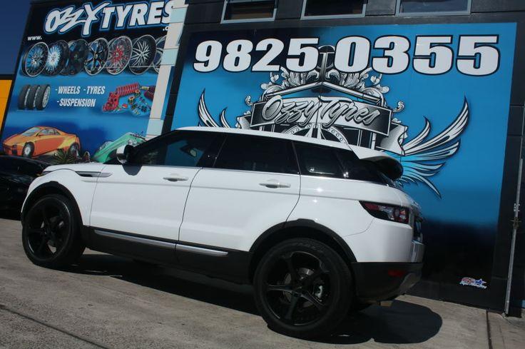 "Black Rims | babyRR.com - The Range Rover Evoque Forum - Cez's new Black 20"" wheels"