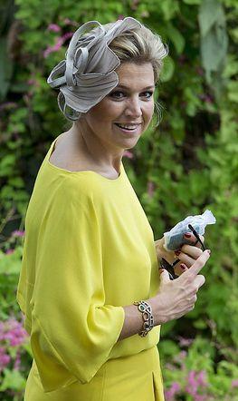 Queen Máxima, Nov. 14, 2013 in Fabienne Delvigne  | The Royal Hats Blog