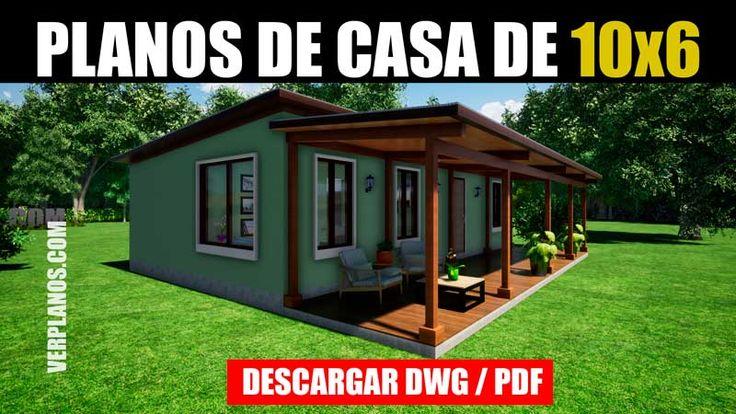 Descargar Planos de casa económica con medidas (DWG / PDF ...