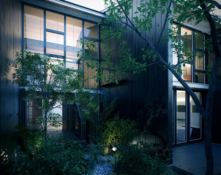 Good Modern Japanese Courtyards   Google Search