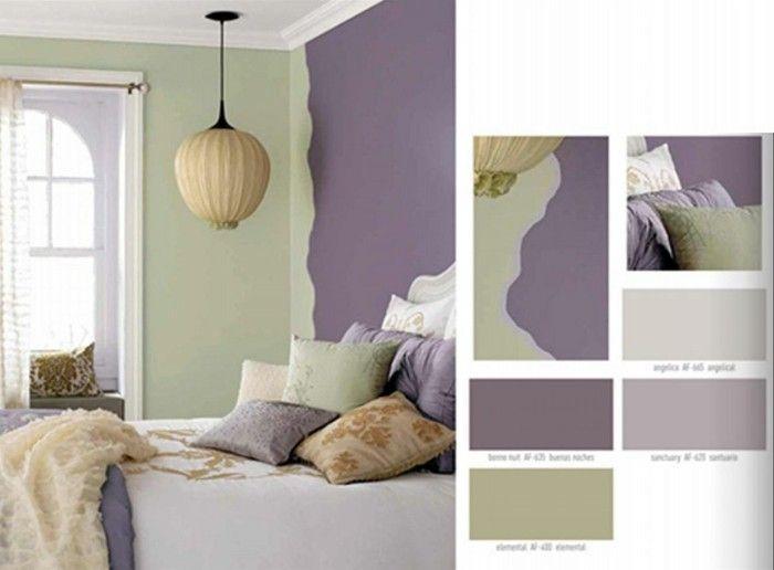 Wohnungseinrichtung Ideen Wie Richte Ich Meine Neue Wohnung Ein Dekoration Bedroom Color Schemes Interior Color Schemes Interior Paint Colors Schemes