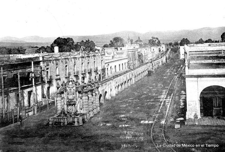 Acueducto de Salto del Agua ca 1860