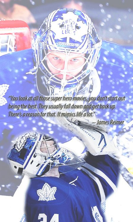 James Reimer thinks about stuff.