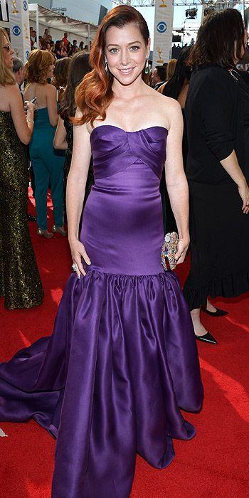 Alyson Hannigan in Marchesa (65th Primetime Emmy Awards)