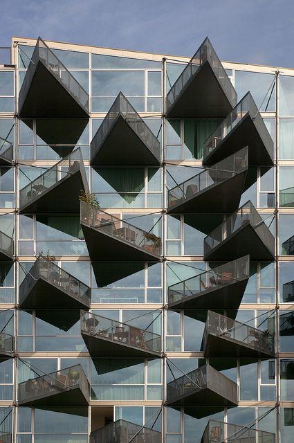 VM Houses by B.I.G Architects #arquitetura #architecture #design #building #construção #casa #house