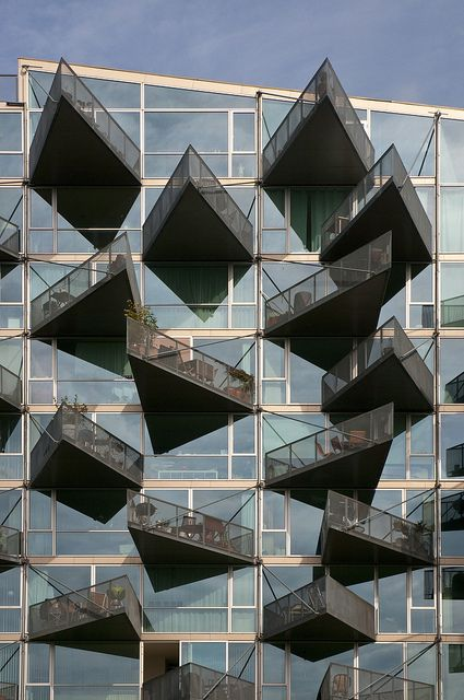 parece un juego mental pero es arquitectura real VM Houses :: B.I.G Architects