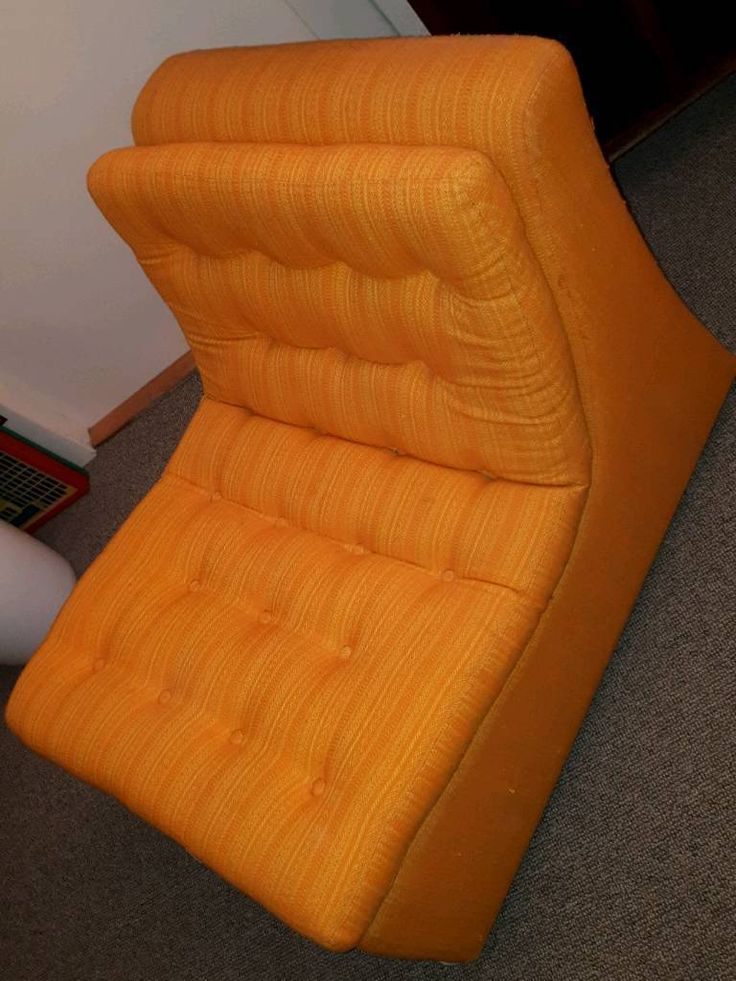 €50 obo ♡♡♡ für Cafe, Atelier, Hipster-WG ♡♡♡ ♡♡♡ 70er / 80er Optik in ORANGE ♡♡♡ . . ★★★ VB: 50 Euro...,♡♡♡ oranger SESSEL__cooler 70/80er Look ♡♡♡ in Berlin - Tempelhof
