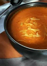 Roasted Red Pepper and Smoked Gouda Soup.  Looks easy and delicious!