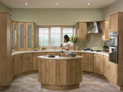Picture of Tuscany Natural Oak for Fitted Kitchen Design #ModernHomeDesign #MinimalistHomeDesign #MinimalistInterior #ModernInterior #MinimalistHouse #MinimalistHome #HousePicture #HomePicture #ModernKitchen #MinimalistKitchen #KitchenPicture #KitchenDesign