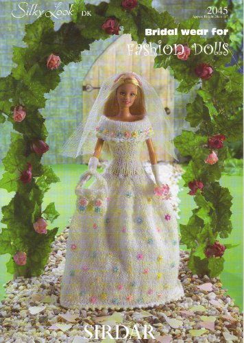 Sirdar Knitting Patterns For Dolls Clothes : Sirdar Dolls Clothes Crochet Knitting Pattern - Bridal ...