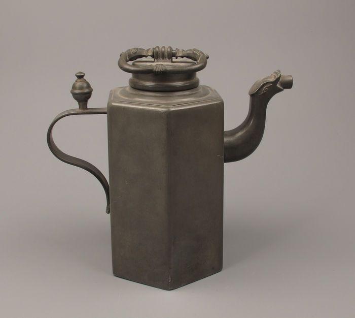 Online veilinghuis Catawiki: Antiek tinnen Kan - Zwisterland? - 19e eeuw