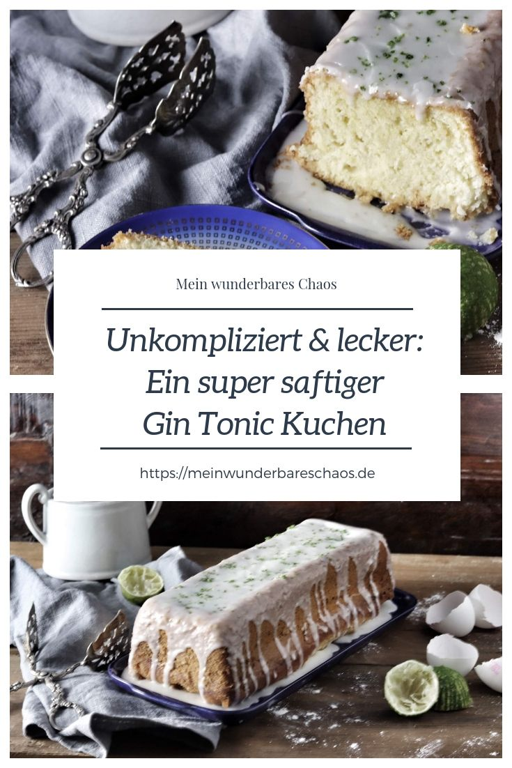 Gin Tonic Kuchen Rezept Lecker Rezepte Und Susse Backerei