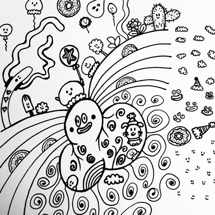 Ink - Drawing 368! #ink #Sketch #art #pen #drawing