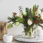 Keine Weihnachtssterne zu Weihnachten – Blumenarrangements im Haus