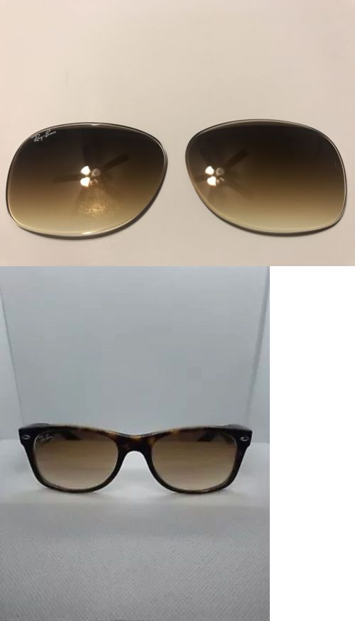 475eb3f161 Replacement Lenses and Parts 179194  New Ray Ban Rb2132 New Wayfarer Brown  Gradient Replacement Lenses Size 52Mm -  BUY IT NOW ONLY   35 on  eBay ...