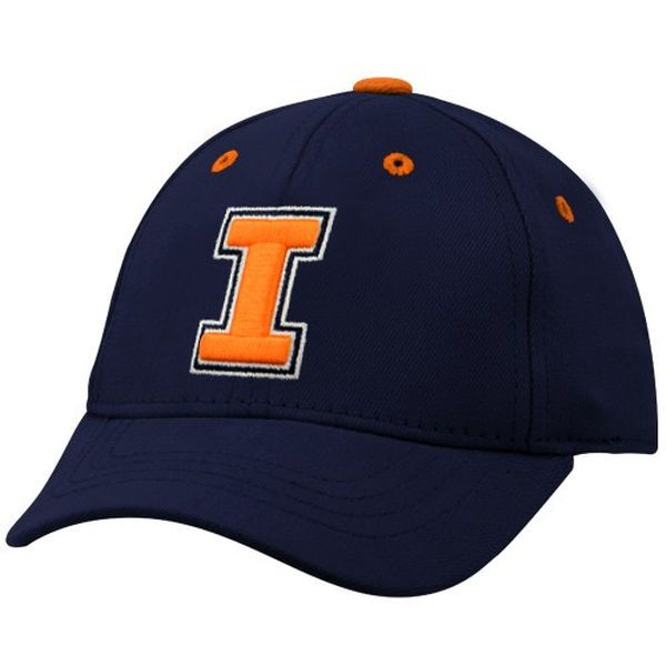 Top of the World Illinois Fighting Illini Navy Blue Infant Lil' Illini Hat - $16.99