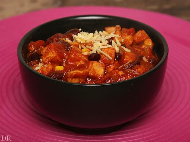 Tempeh Chili met Chipotles (met kidneybonen)