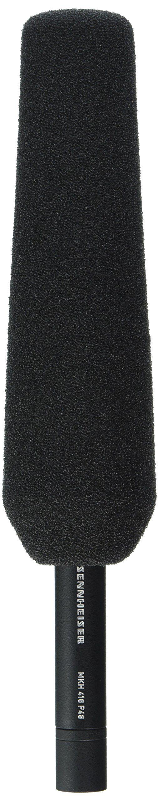 Sennheiser MKH416-P48U3 Super-Cardioid Shotgun Tube Condenser Microphone