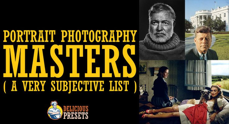 Portrait Photography Masters - a Very Subjective List