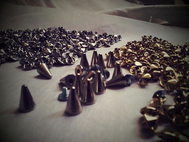 Tons of gold and silver studs